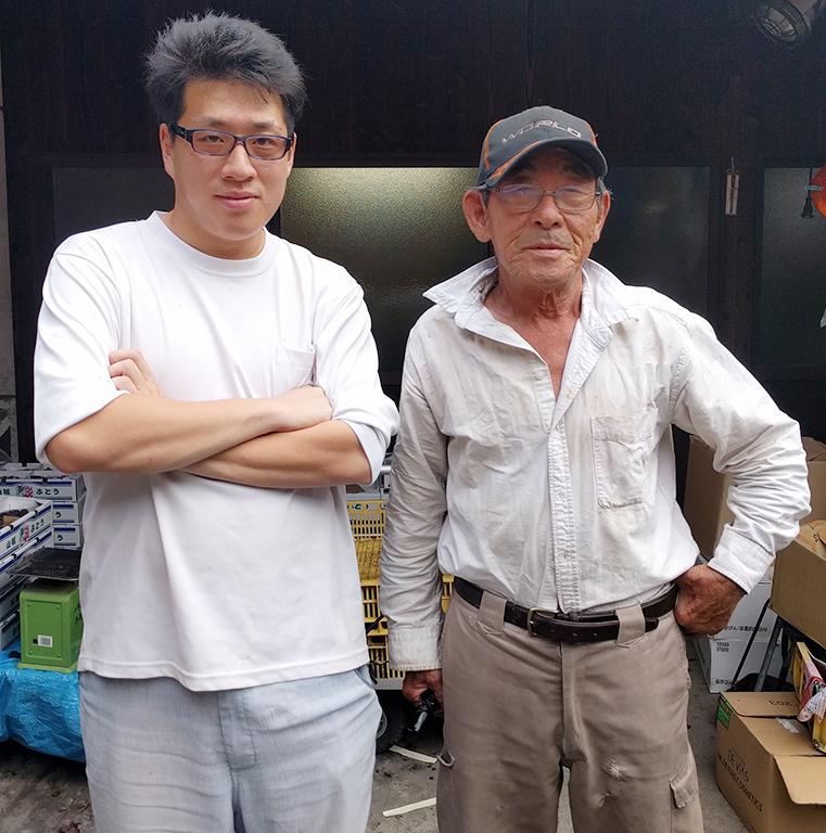 祖父と孫で作るぶどう【2016年8月訪問記】