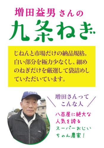 増田益男_九条ねぎ