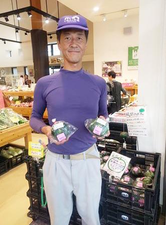 7/4NHK京いちにち 高木さんの風鈴かぼちゃが特集されました!
