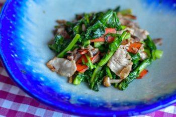畑菜の炒め物