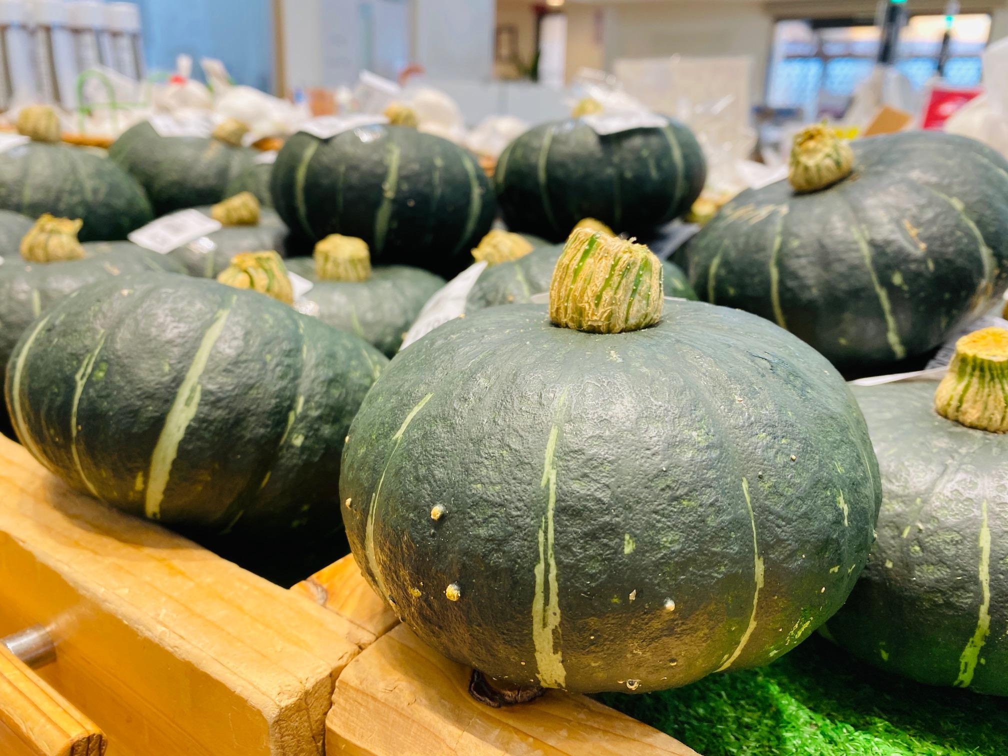 手のひらサイズの可愛いかぼちゃ