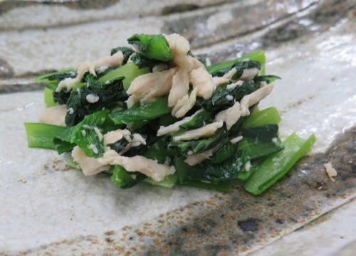 小松菜の塩麹和え