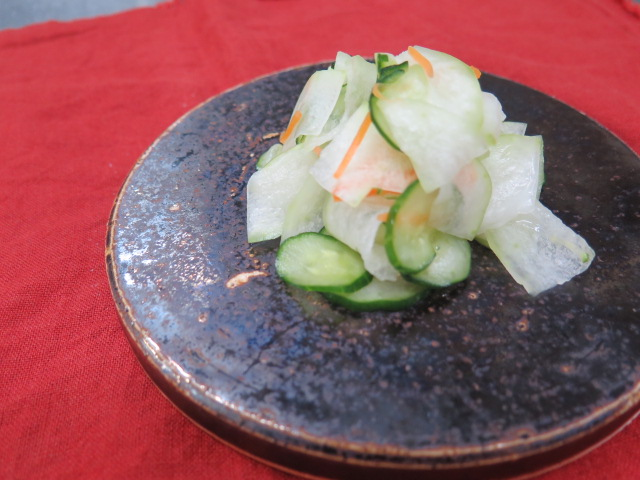 冬瓜サラダ