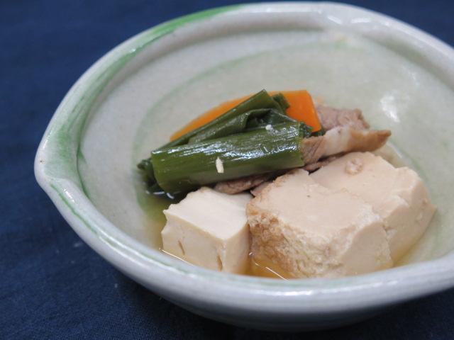 九条ねぎたっぷり肉豆腐