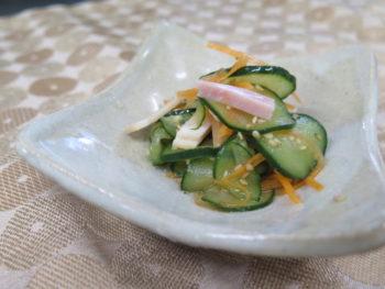 胡瓜の酢の物