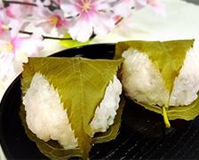 4/9 田中さんの「桜もち・おはぎ」店頭販売会