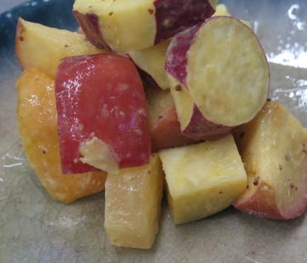 京都産焼りんごのハニーマスタード和え