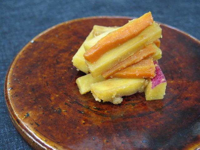 さつま芋の金平
