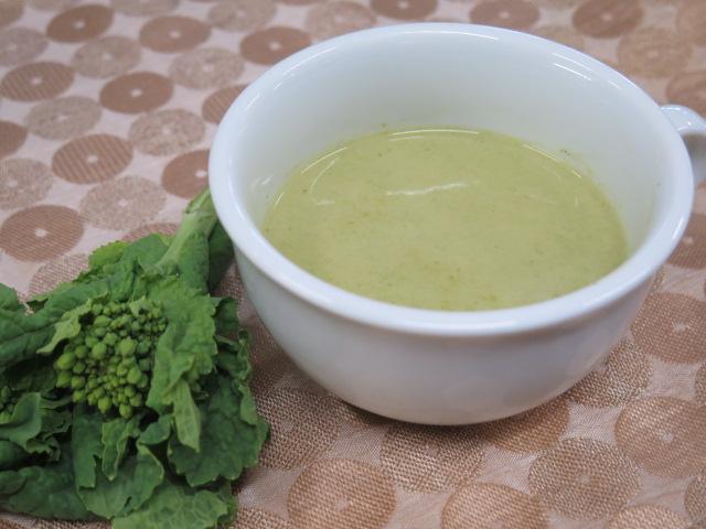 菜の花スープ