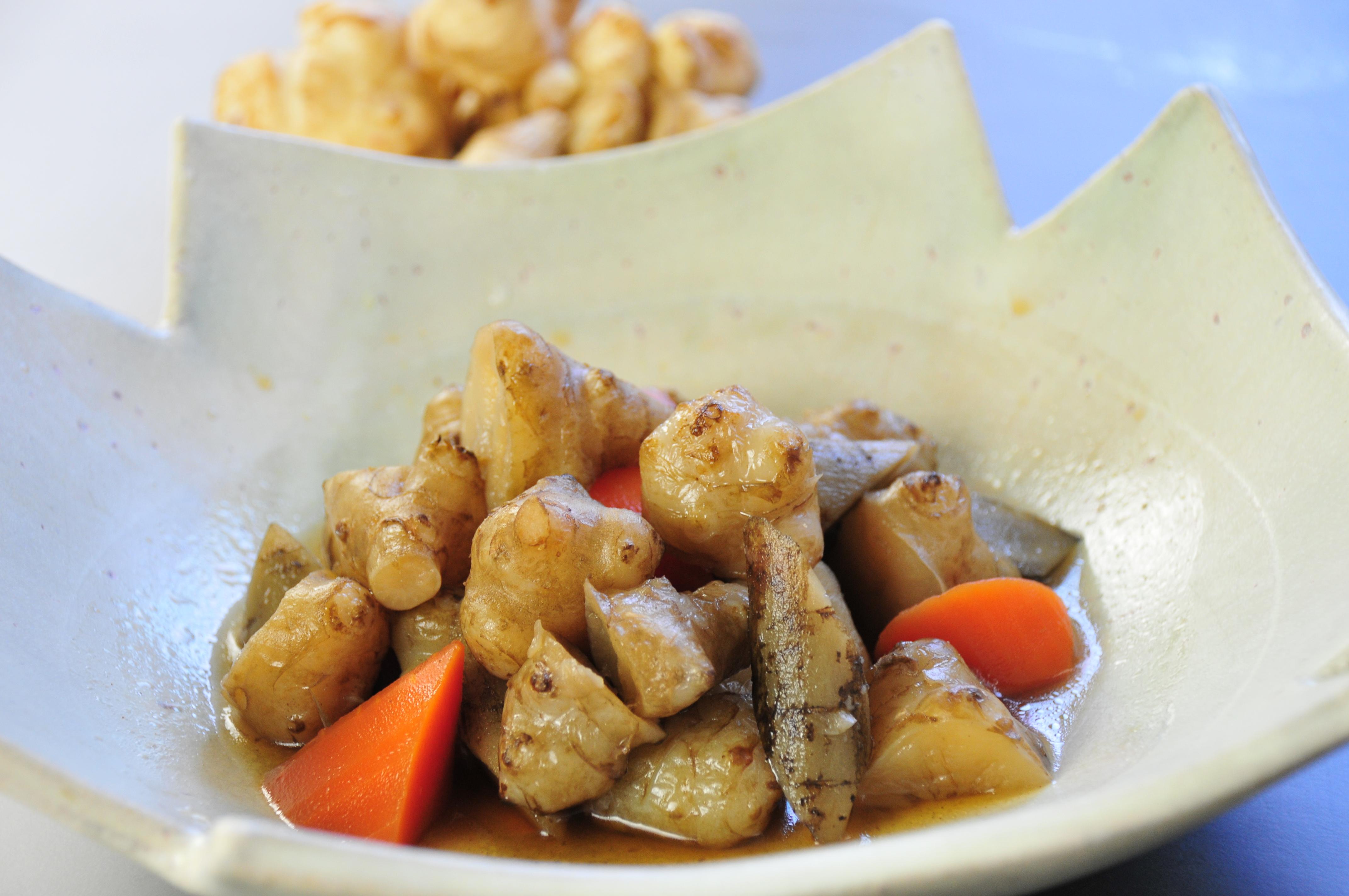 菊芋の甘辛煮
